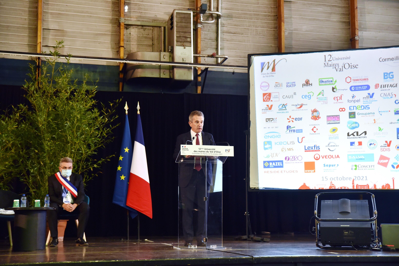Remerciements 12e Université des Maires du Val-d'Oise