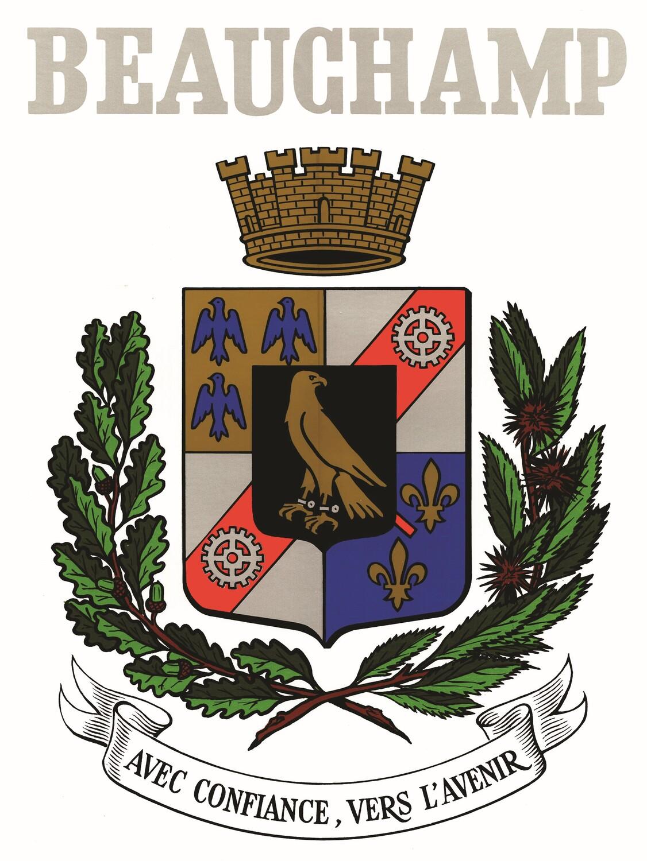 Blason de la mairie de Beauchamp