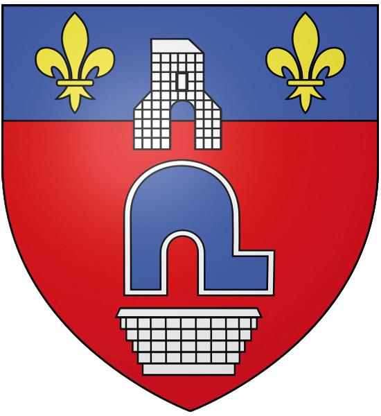 Blason de la mairie de Cergy