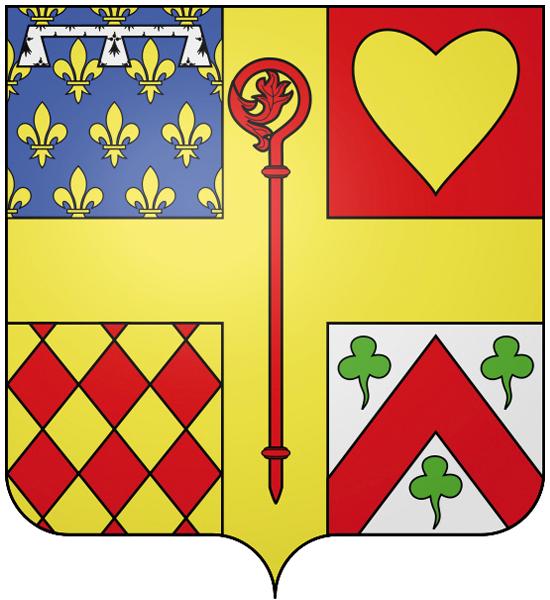 Blason de la mairie de Cormeilles-en-vexin