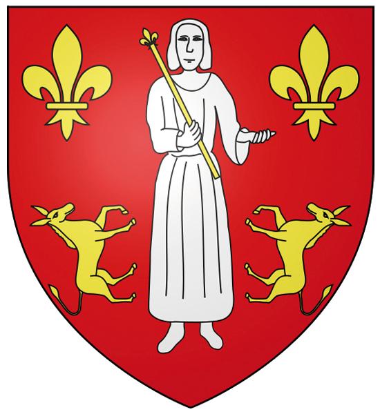 Blason de la mairie de Asnieres-sur-oise