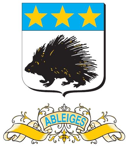 Blason de la mairie de Ableiges
