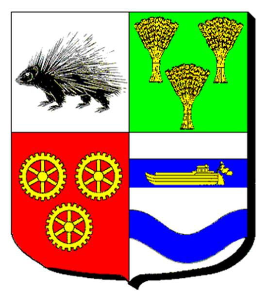 Blason de la mairie de Bruyeres-sur-oise