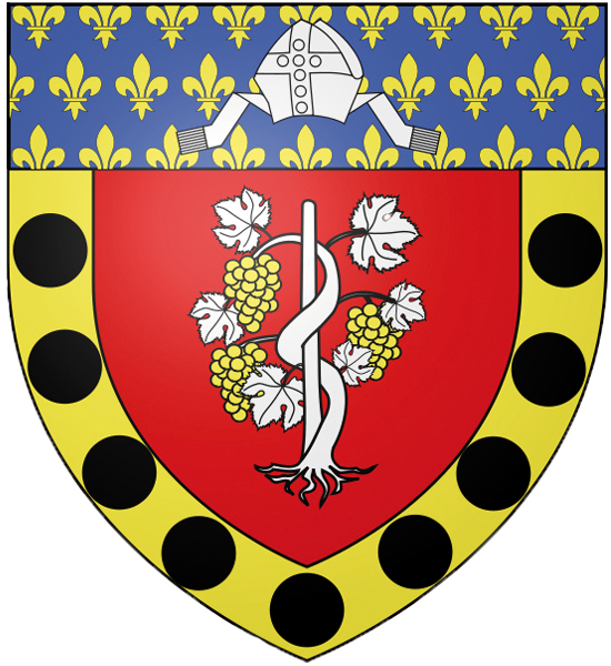 Blason de la mairie de Ermont
