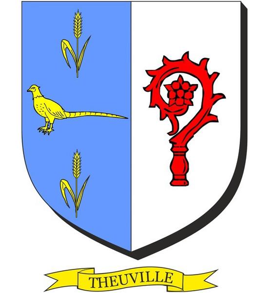 Blason de la mairie de Theuville