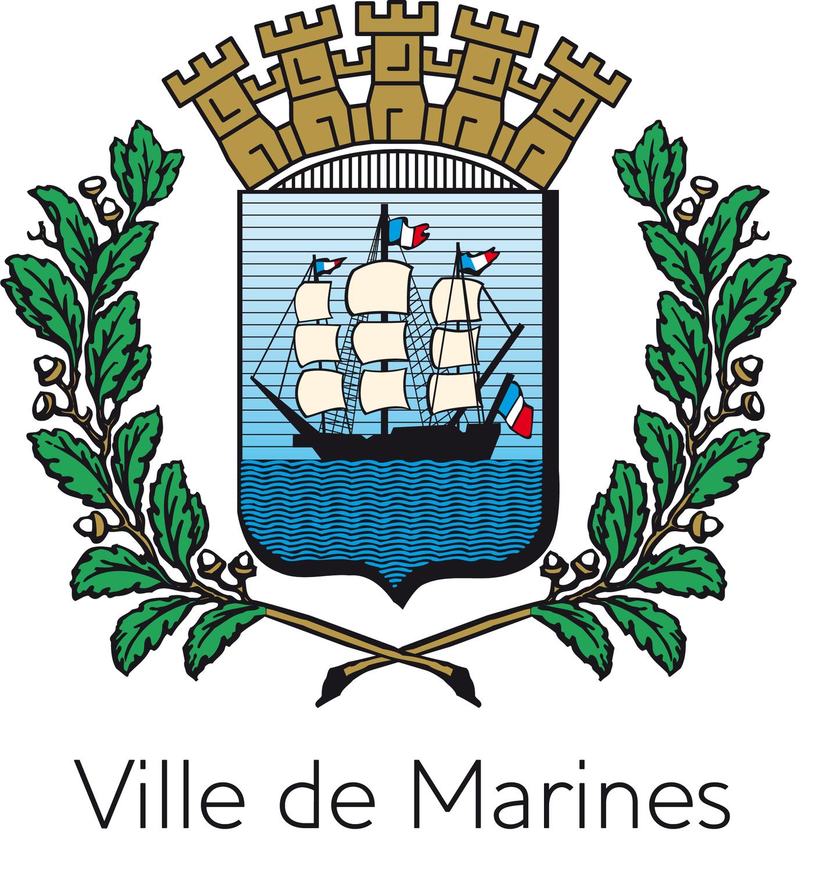 Blason de la mairie de Marines