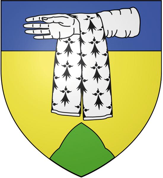 Blason de la mairie de Domont