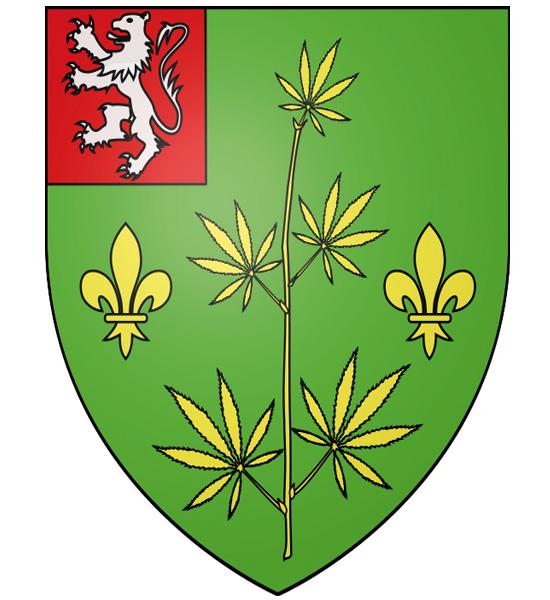 Blason de la mairie de Chennevieres-les-louvres
