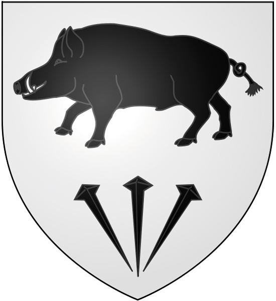 Blason de la mairie de Courcelles-sur-viosne