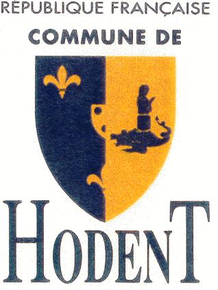 Blason de la mairie de Hodent