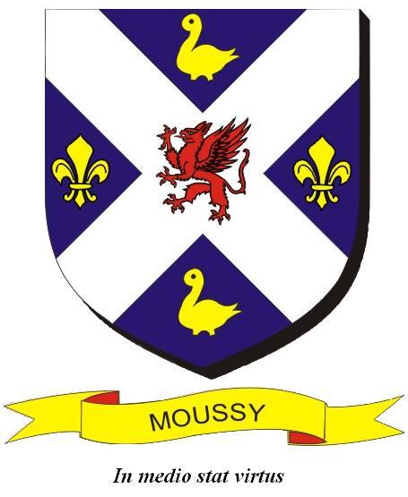 Blason de la mairie de Moussy
