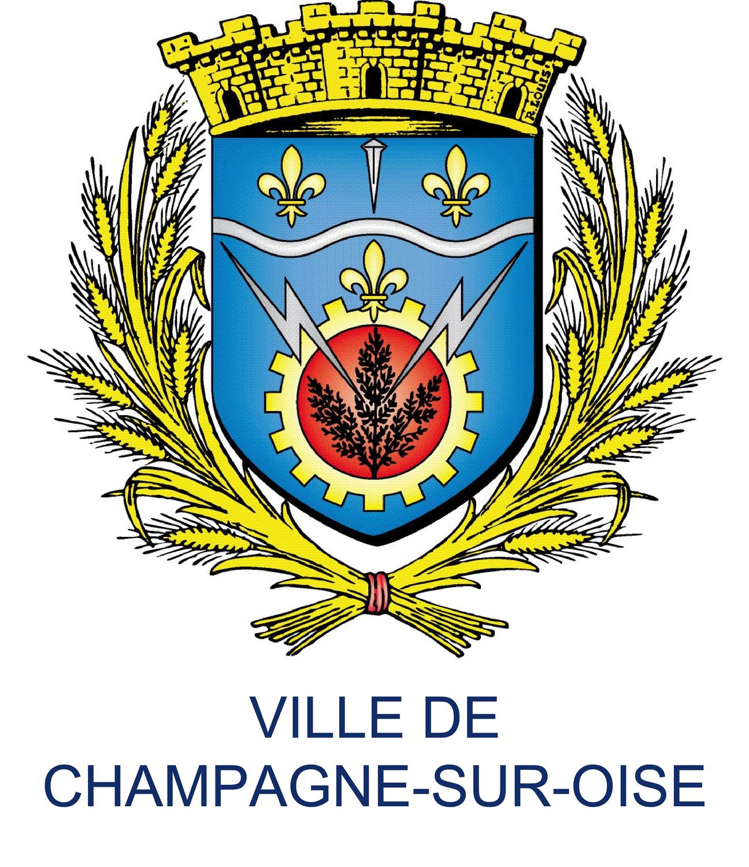 Blason de la mairie de Champagne-sur-oise