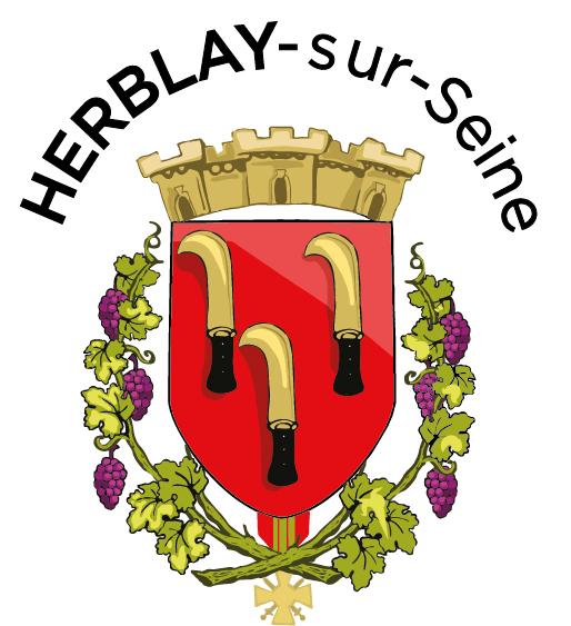 Blason de la mairie de Herblay-sur-seine