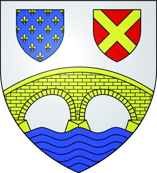 Blason de la mairie de Auvers-sur-oise