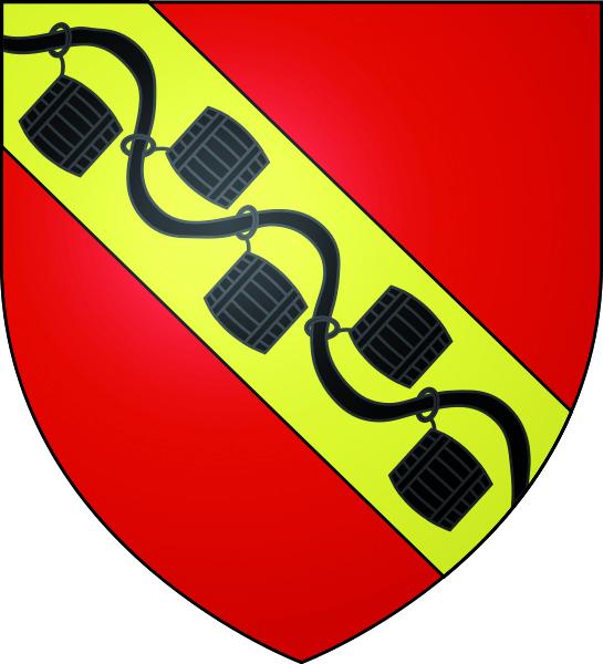 Blason de la mairie de Genicourt