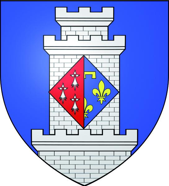 Blason de la mairie de Luzarches