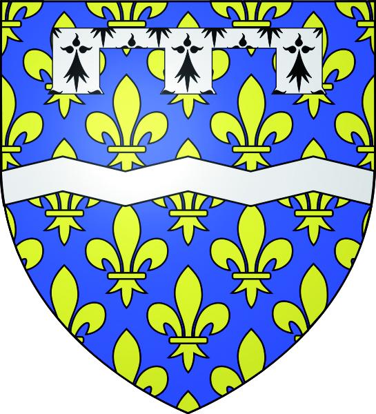 Blason de la mairie de Maudetour-en-vexin