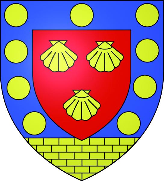 Blason de la mairie de Menucourt
