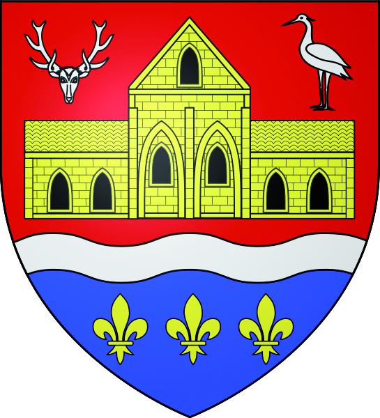 Blason de la mairie de Meriel