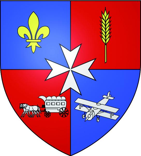 Blason de la mairie de Moisselles