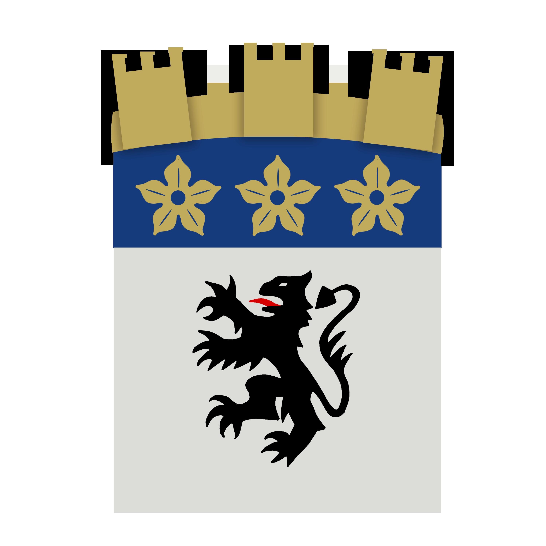 Blason de la mairie de Nesles-la-vallee