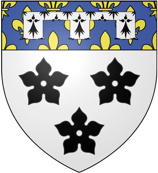 Blason de la mairie de Guiry-en-vexin