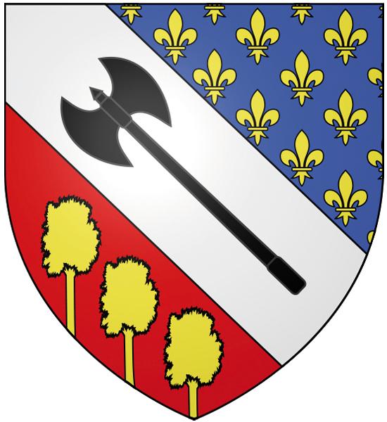 Blason de la mairie de Franconville