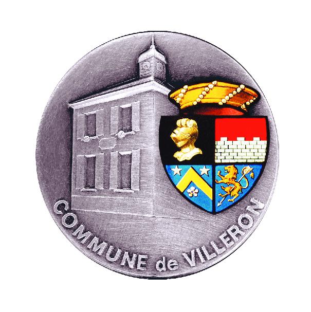 Blason de la mairie de Villeron