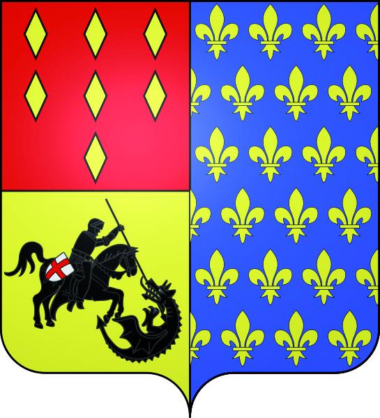 Blason de la mairie de Belloy-en-france