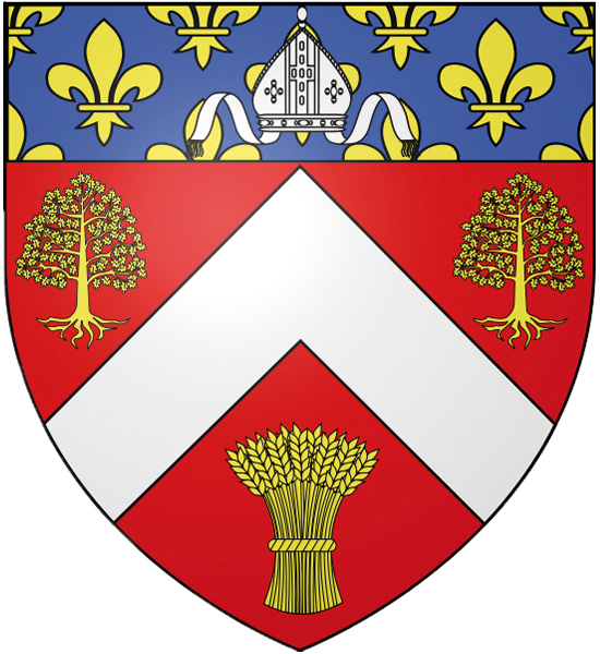Blason de la mairie de Nerville-la-foret