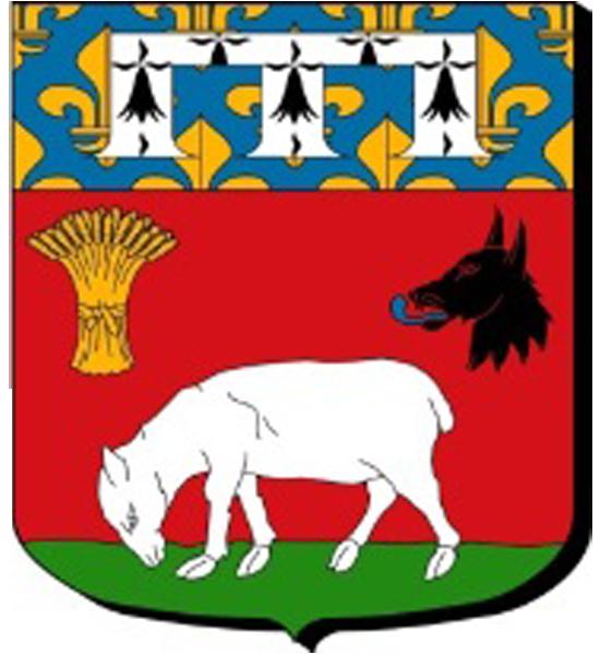 Blason de la mairie de Herouville-en-vexin
