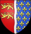 Blason de la mairie de Saint-clair-sur-epte