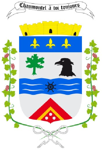 Blason de la mairie de Chaumontel