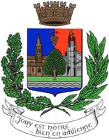Blason de la mairie de Jouy-le-moutier