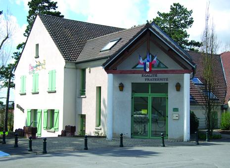 façade de la mairie de Genicourt