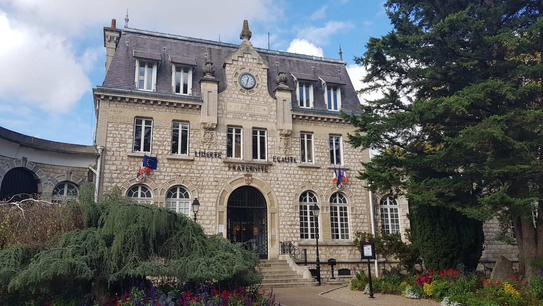façade de la mairie de Saint-gratien