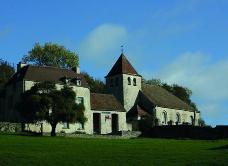 façade de la mairie de Saint-cyr-en-arthies