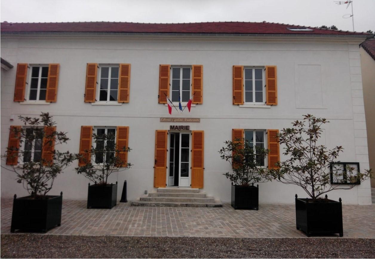 façade de la mairie de Le plessis-gassot