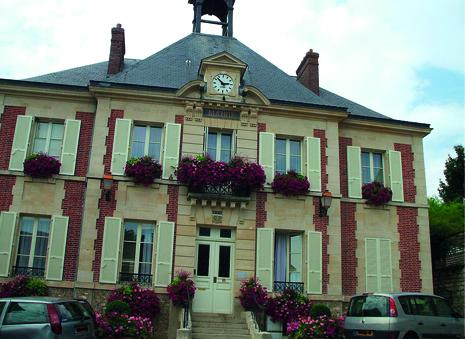 façade de la mairie de Boissy l'aillerie