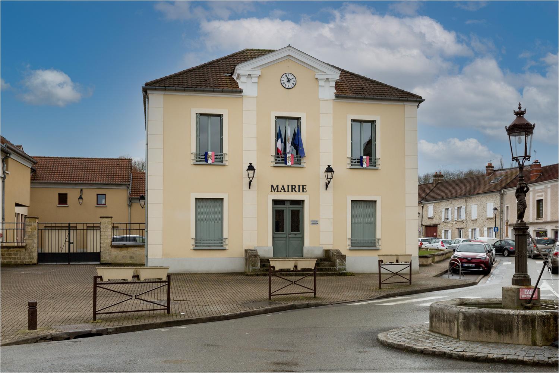 façade de la mairie de Frepillon