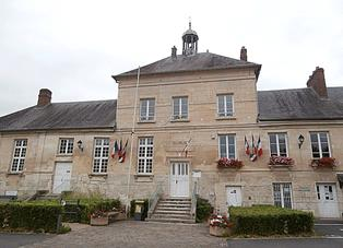 façade de la mairie de Chars