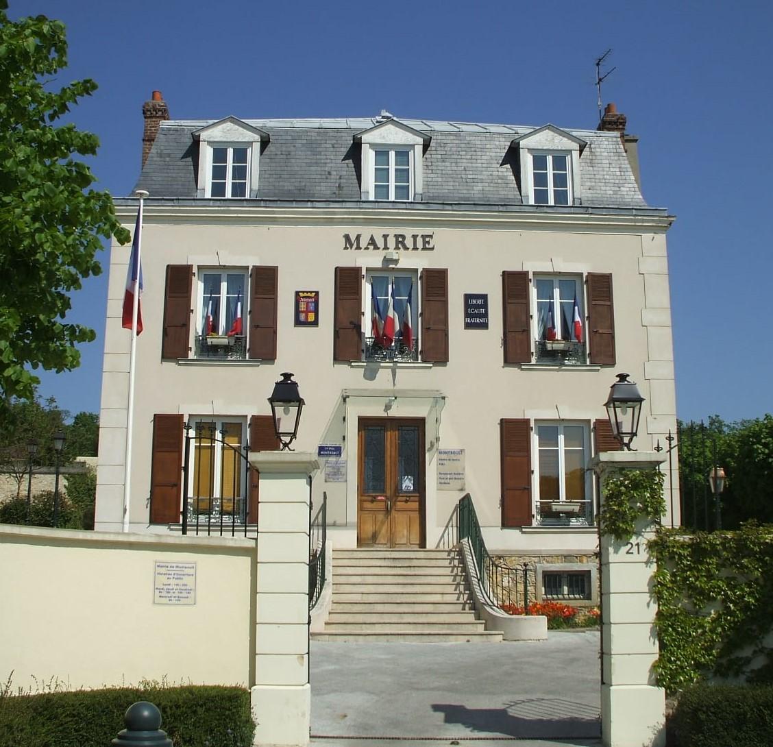 façade de la mairie de Montsoult