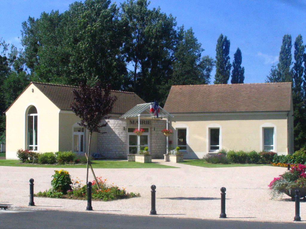 façade de la mairie de Montgeroult