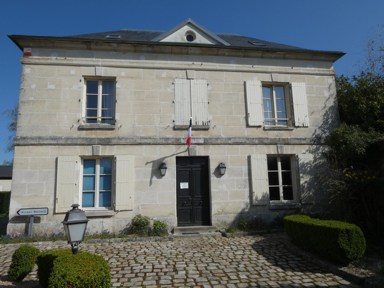 façade de la mairie de Maudetour-en-vexin