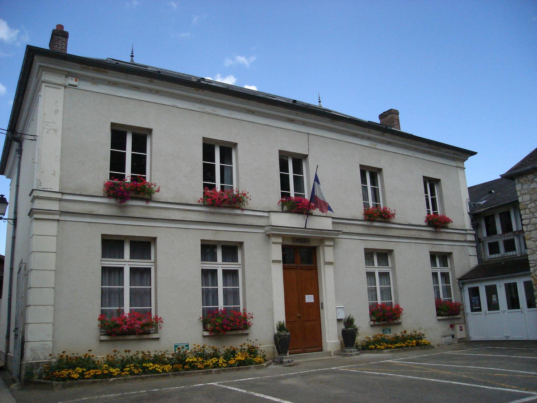 façade de la mairie de Vigny