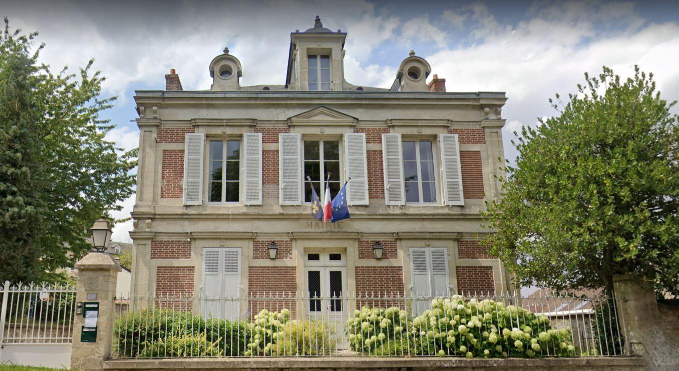 façade de la mairie de Wy-dit-joli-village
