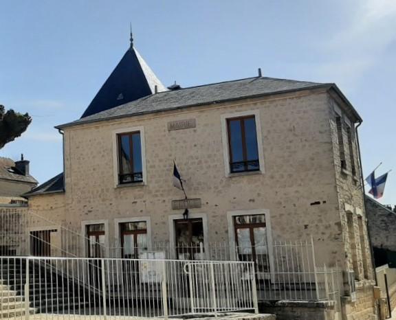 façade de la mairie de Frouville