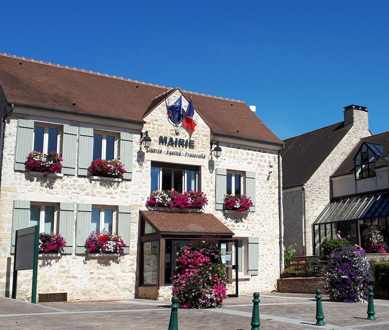 façade de la mairie de Neuville-sur-oise