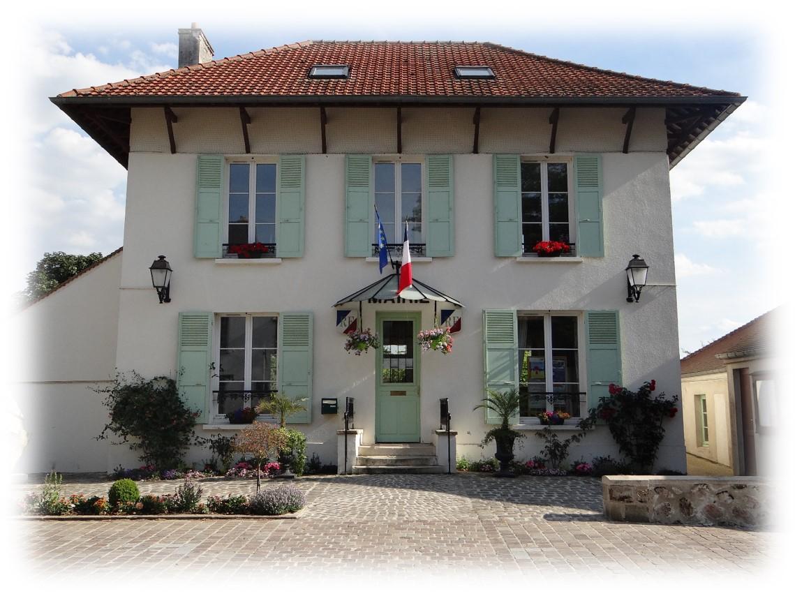 façade de la mairie de Epiais-les-louvres