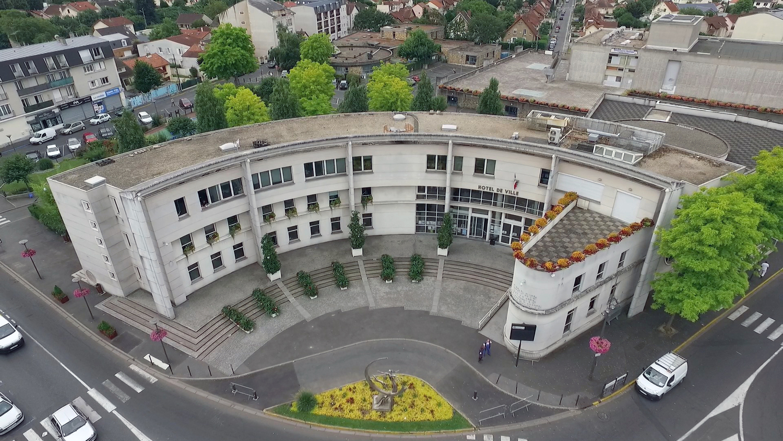 façade de la mairie de Goussainville